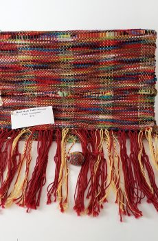 Loomed and Fringed Table Runner