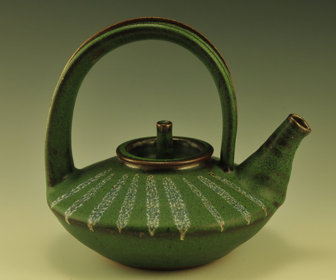 Clay: Teapot by Haddie Hadachek