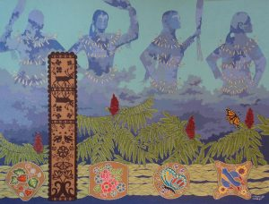 """""""She Makes Rain"""" by Chholing Taha (Cree First Nations)"""