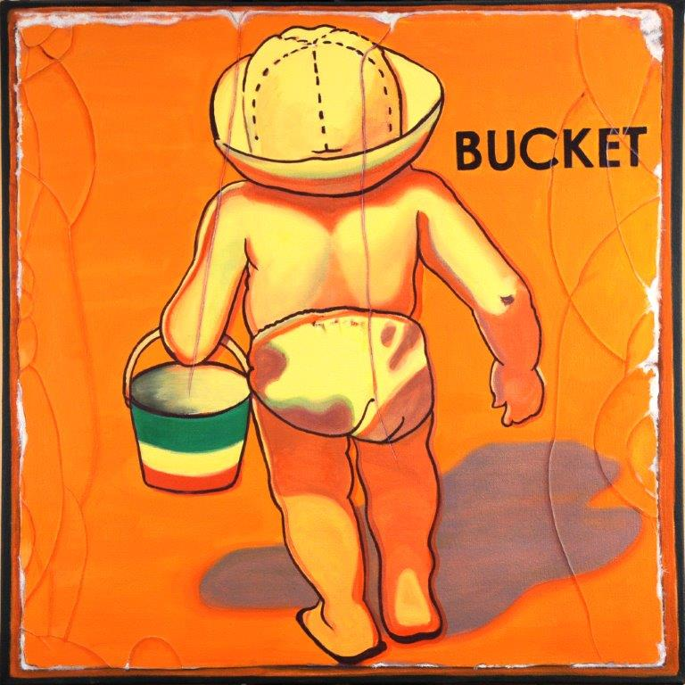 _BUCKET_ 2013 Oil on Canvas
