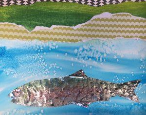 Second Saturday - Landscape Collage