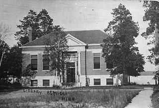 Carnegie Library Bemidji, MN summer