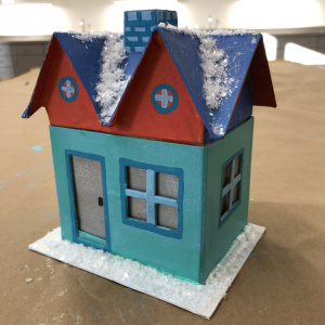Wintry Houses Family Create