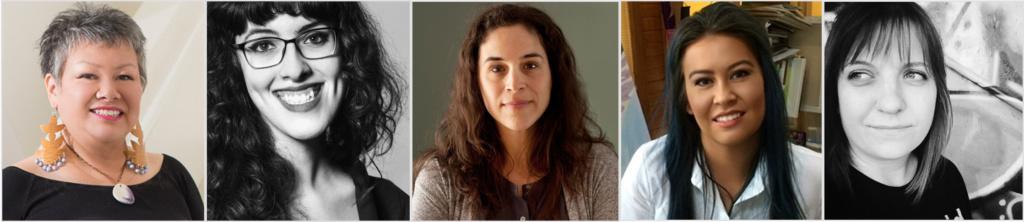 5 Women Artist Panel