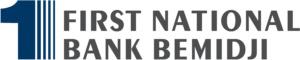 2020 First National Bank Bemidji logo logo