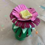 Paper Tube Flowers