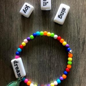 Kid's Word Bracelet