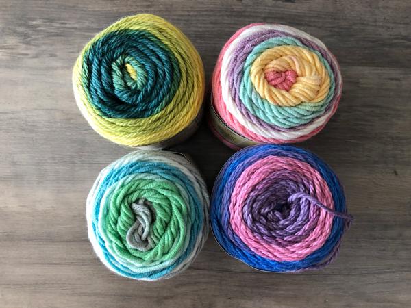 3D Pom Pom yarn