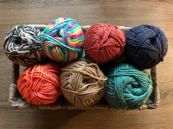 yarn color choices