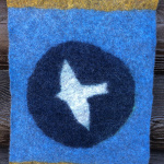 Felted Wall hanging tribute