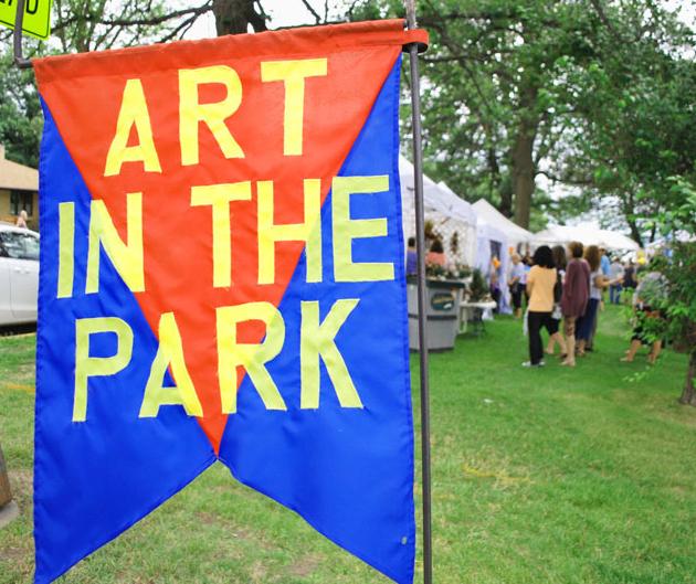 Art in the Park Banner