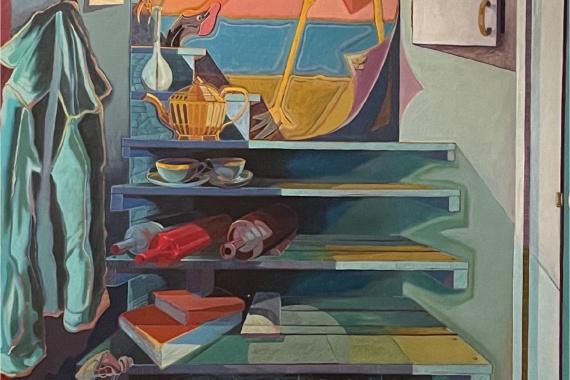 Marley Kaul painting